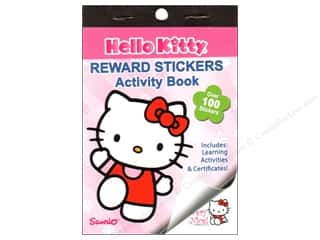 Activity Books / Puzzle Books: Reward Stickers Hello Kitty Book