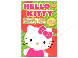 Activity Books / Puzzle Books: Coloring & Activity Book with Stickers Hello Kitty (3 pieces)