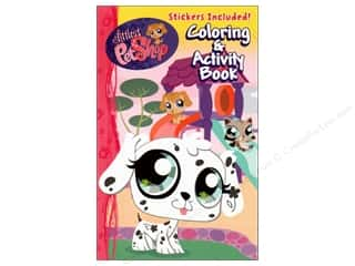 Coloring & Activity Book with Stickers Littlest Pet Shop