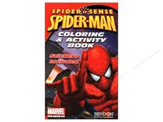 Coloring & Activity Sticker Spider Man Book (3 pieces)