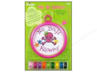 Bucilla Xstitch Kit My 1st Stitch Mini No Boys