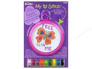 Weekly Specials Doodlebug Album Protector: Bucilla Xstitch Kit My 1st Stitch Mini Butterfly