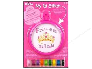 Weekly Specials Doodlebug Album Protector: Bucilla Xstitch Kit My 1st Stitch Mini Princess
