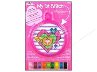 Weekly Specials Doodlebug Album Protector: Bucilla Xstitch Kit My 1st Stitch Mini Heart