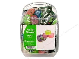 Baumgartens Mini Tape Dispenser Assorted Bin (20 pieces)