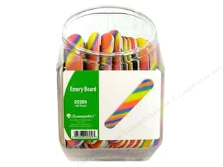 Baumgarten&#39;s Emery Board Bins Rainbow (100 pieces)