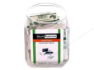 Baumgartens Bins Staples Standard 1000pc Silver (36 pieces)