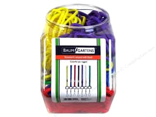 Baumgartens Standard Lanyard with Hook Bin Assorted (72 pieces)