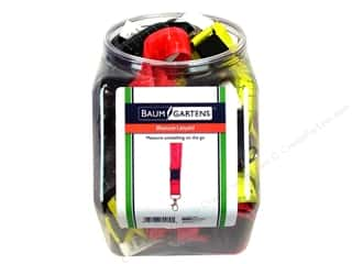Baumgartens Lanyard Measure Tape Bulk Astd (36 pieces)
