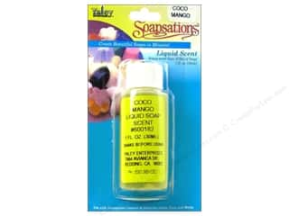 Soap Making Supplies Yaley Soapsations Liquid Color 1 oz: Yaley Soapsations Liquid Scent 1oz Coco Mango