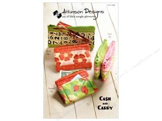 Suitcases / Carrying Caes 12 x 12: Atkinson Designs Cash & Carry Pattern