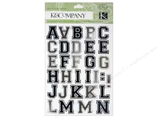 K&Co Sticker Graduation Academic Alphabet