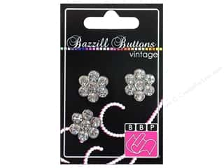 "button: Bazzill Buttons Vintage 3/4"" Elizabeth 3pc"