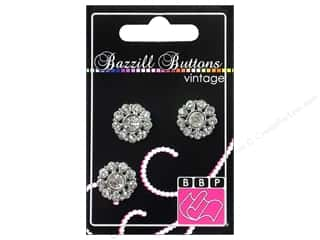 "button: Bazzill Buttons Vintage 3/4"" Sophia 3pc"