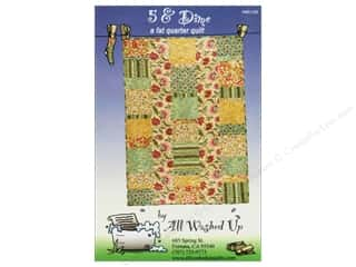 Laundry Basket Quilts Fat Quarter / Jelly Roll / Charm / Cake Patterns: All Washed Up Five & Dime Revised Pattern
