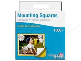 SCRAPBOOK ADHESIVES BY 3L Mounting Sq Repo 1000pc