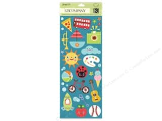 K&amp;Co Sticker Mini Accents Spaghetti (3 packages)