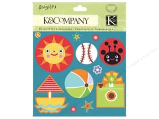Toys $2 - $3: K&Company Stickers Charmers Spaghetti