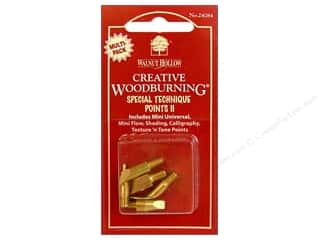 Wood Burning Wood Burning Tools: Walnut Hollow Woodburning Points Special Technique II 5pc
