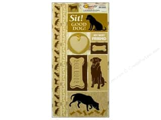 Quilting/Weaving Frames Scrapbooking & Paper Crafts: Scrappin Sports Sticker Cardstock Down on Farm Dogs