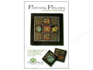 Patches Clearance Crafts: Cedar Canyon Paintstik Patches Pattern