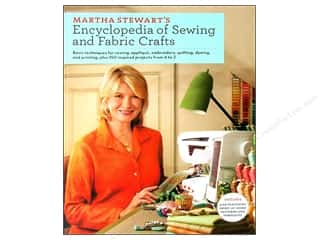 DVD Video Clearance Books: Potter Publishers Martha Stewart's Encyclopedia of Sewing and Fabric Crafts Book
