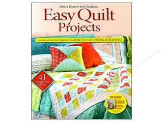 Easy Quilt Projects Book