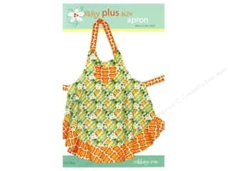 Plus: Cabbage Rose Sassy Plus Size Apron Pattern