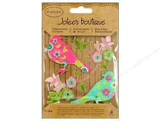 Jolee's Boutique Stickers Parcel Printed Birds