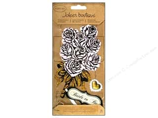 Jolee's Boutique Stickers Large Parcel Vintage Bride Bouquet