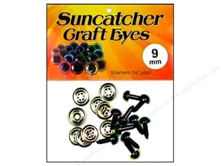 Suncatcher Craft Eyes Translucent 9mm Pastel 5pr