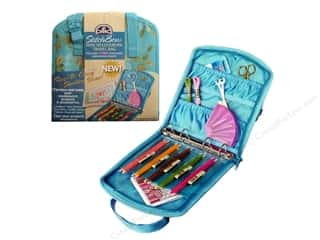 Needlework Organizer: DMC StitchBow Mini Needlework Travel Bag Blu Print