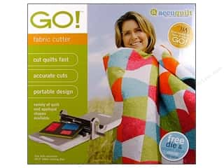 Fabric Cutters / Buttonhole Cutters: AccuQuilt Go Fabric Cutter Machine