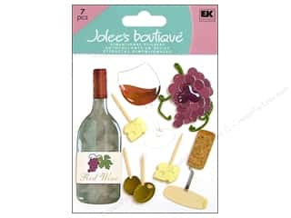 Food Stickers: Jolee's Boutique Stickers Wine Tasting