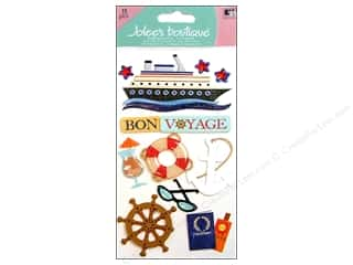 Felt Vacations: Jolee's Boutique Stickers Large Bon Voyage