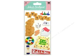 Jolee's Boutique Stickers Large Game Night