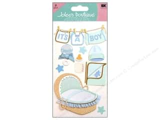 Happy Lines Gifts Bottles: Jolee's Boutique Stickers Large Baby Boy