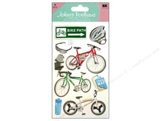 Jolee&#39;s Boutique Stickers Large Biking