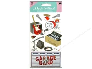 Clearance Artbin Yarn Drum: Jolee's Boutique Stickers Large Garage Band