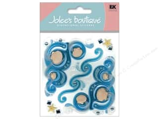Beach & Nautical EK Jolee's Boutique: Jolee's Boutique Stickers Sea Flourishes