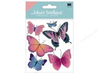 3-D Stickers / Fuzzy Stickers / Foam Stickers: Jolee's Boutique Stickers Butterflies