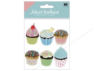 Jolee&#39;s Boutique Stickers Vellum Cupcakes