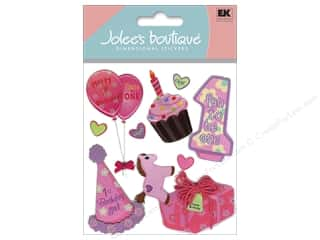 Jolee's Boutique Stickers 1st Birthday Girl