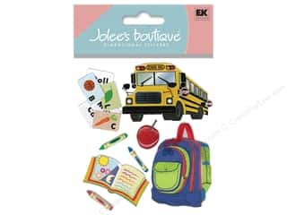 Foam Back to School: Jolee's Boutique Stickers Going To School