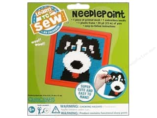 Colorbok Yarn & Needlework: Colorbok Learn To Kit Needlepoint Dog