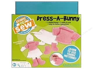 Colorbok Learn To Sew Kit Dress A Bunny