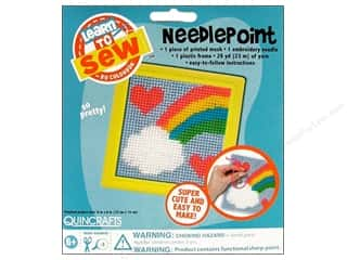 Colorbok Yarn & Needlework: Colorbok Learn To Kit Needlepoint Rainbow