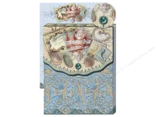 Magnets Beach & Nautical: Punch Studio Pocket Note Pad Glitter Sea Treasure