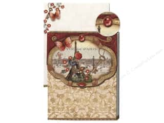 Punch Studio Pocket Note Pad Glitter Vue De Paris