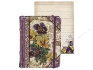 Punch Studio Pocket Book Tiny Pansies